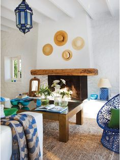 Ibiza, Spain- Love this colour combination.