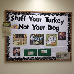 We used this board for thanksgiving at the clinic. It has computer generated…
