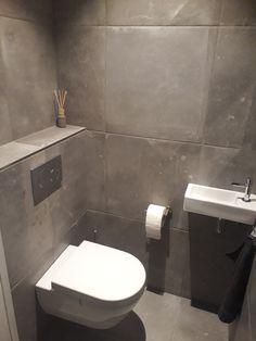 Understairs Toilet, Small Toilet, Downstairs Loo, My Room, Powder Room, Tiles, Sweet Home, New Homes, Bathroom