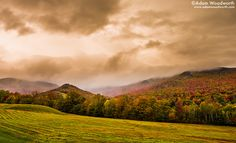 Even cloudy days are beautiful in #Stowe #Vermont