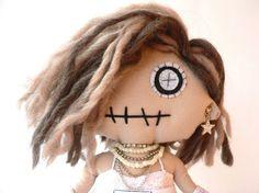 Madonna Fabien  handmade doll of Madonna by littlefabien on Etsy