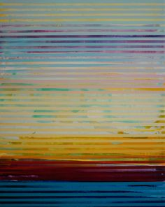 "Saatchi Art Artist: Shawn Skeir; Acrylic 2015 Painting ""Weaving Landscape - 2"""