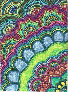 Rangoli Pattern 003 by DearPrudenceAtelier on Etsy, $350.00