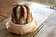Fancy cake at a Georgian banquet