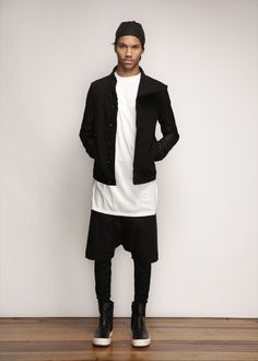 Rick Owens D RK SH D W Black Denim Jacket