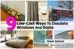 How To: Insulate Windows & Doors without the high cost