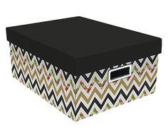 Caixa Organizadora Zigzag - 40X30cm