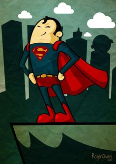 Superman #Illustration