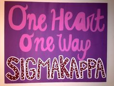 Sigma Kappa Canvas by ForMyLittle on Etsy