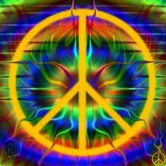 ༺✿Give Peace a Chance Hippie Peace, Happy Hippie, Hippie Love, Hippie Art, Hippie Style, Hippie Chick, Peace Love Happiness, Peace And Love, Peace Sign Art