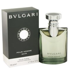 Bvlgari Pour Homme Soir by Bvlgari Eau De Toilette Spray 1.7 oz  #cologne #bagsaroma #accessories #perfume #men #women