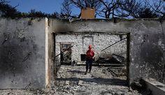Φωτιά στο Μάτι: Στους 95 οι νεκροί - Κατέληξε 63χρονος εγκαυματίας Painting, Home Decor, Room Decor, Painting Art, Paint, Draw, Home Interior Design, Decoration Home, Paintings