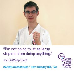 On the next episode of BBC Two's 'Great Ormond Street', Jack must decide on the best course of treatment to combat his epilepsy.