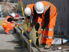 Prisoners could help offset workers shortage workers after Brexit, justice secretary says Water Well Drilling, Drilling Rig, Construction Images, Road Construction, Oil Platform, University Of Melbourne, Yoga Photos, Work Site, North Sea