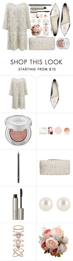 """Sin título #1198"" by miica-olavarria ❤ liked on Polyvore featuring Marchesa, Sophia Webster, Urban Decay, Korres, MAC Cosmetics, Badgley Mischka, Ilia, Henri Bendel and Accessorize"