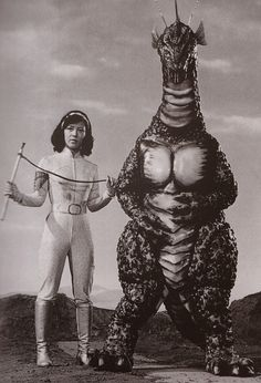 behind the scenes stills from Terror of Mechagodzilla