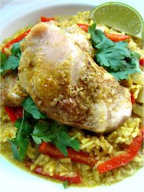 Family Feedbag: Coconut curry chicken and rice