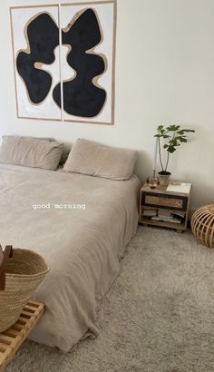 kalifornia dreamin' Room Ideas Bedroom, Home Bedroom, Bedroom Decor, Bedrooms, Minimalist Room, Minimalist Apartment, Aesthetic Room Decor, Dream Rooms, My New Room