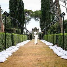 The @jw_anderson catwalk at Villa La Pietra in Florence where the designer showed as part of @pittimmagine #pittiuomo92 ( @jasonhughesinfo)  via WALLPAPER MAGAZINE OFFICIAL INSTAGRAM - Fashion Design Architecture Interiors Art Travel Contemporary Lifestyle