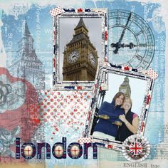 Scrapbook Pages london | And the kit, from Maya de Groot Designs:
