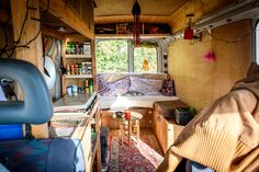 I met Finn in Hungary whilst helping to build the SUN festival (my first summer on the road) and now he's a good friend. And he's just bought a van! He's been living in it through the winter in England. Note: I meant to post this 2 months ago. Oops. So here's a tour of …