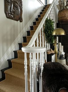 Stair Runners - Wholesale Carpets Staircase Remodel, Staircase Makeover, House Stairs, Carpet Stairs, Basement Stairs, Open Basement, Basement Ideas, Basement Finishing, Foyers
