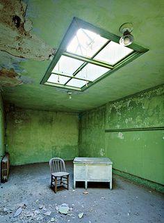 Stephen Wilkes. Ellis Island's Abandoned Hospital