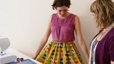 make a skirt in an hour