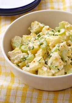 La mejor ensalada cremosa de papas-Esta ensalada cremosa de papas, será el mejor platillo para apapachar y consentir a toda tu familia y amigos a la hora de la cena.