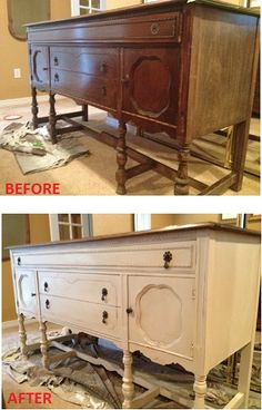 My first attempt at using Annie Sloan chalk paint