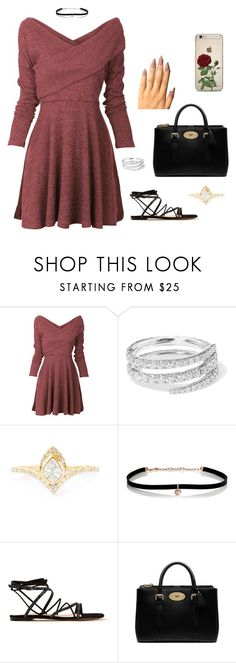 """""""Untitled #272"""" by mentarijae on Polyvore featuring Anita Ko, Carbon & Hyde, Gianvito Rossi and Mulberry"""