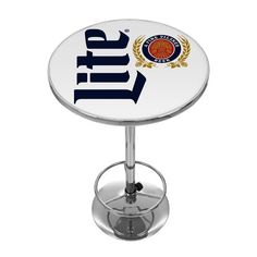 Found it at Wayfair - Miller Lite Retro Adjustable Pub Table