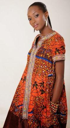 Creative Ankara Style: Ankara Gown - DeZango Fashion Zone
