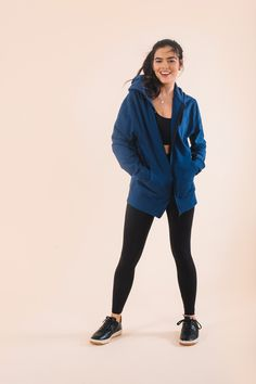 cb472537 Our zip hoodie is made with Fairtrade and Organic cotton with a super soft  fleece interior