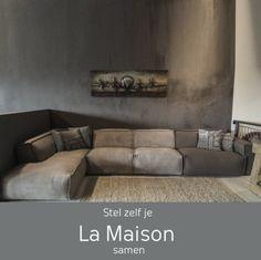 Cozy Living Rooms, Home And Living, Living Room Decor, Sofa Design, Interior Design, Simple Sofa, Home Theater Design, Lounge Seating, Modular Sofa