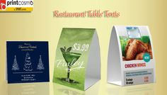 A practical guide for restaurant table tents Table Tents, Restaurant Tables, Printing, Messages, Text Posts, Text Conversations