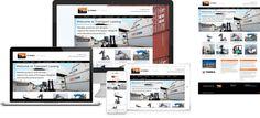 Transport Leasing - website design by Forge Online