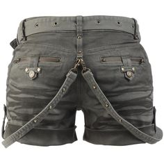 Studded Hot Pants - Girls hotpants by Black Premium by EMP - Article Number: 264710 - from 59.99 € • EMP