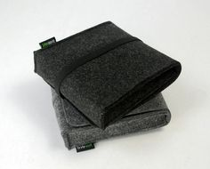 Felt Black or Grey Storage Case Storage Bag Storage by Filzkraft, $13.00