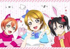Rin, Hanayo & Nico