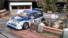 Austin Metro (MSC) at my Slot Car Track  #austin #metro #oldcar #slotcartrack #slot #hobby #scenary #slotcar #alotslot #scalextric #scx #ninco #carrera #slotit #msc #rally #rallycar #racing #race #dreamcar #wrc #gp #gt #f1 #wec #lemans #diorama #scale132 #hobby #modelism #diecast #miniature #toy #modelcar #motor #motorsports