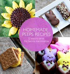 12 Clever Ways to Serve Peeps This Easter from @Babble