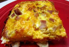 Bisquick Bacon Egg Cheese Casserole
