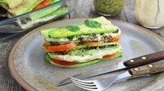 82 receitas saborosas para o almoço de domingo com a família Raw Food Recipes, Cooking Recipes, Healthy Recipes, Salsa Pesto, Salmon Burgers, Healthy Lifestyle, Food And Drink, Low Carb, Pasta