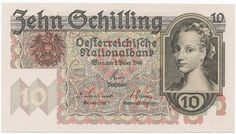 Austria - 10 Schilling This money is colorful and bright. This leads me to think that this country would be fun and bright. Old Coins, People Of The World, Portrait, Austria, Vintage World Maps, The Past, Memories, History, Retro