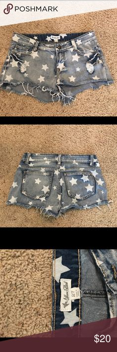 Women's Denim Shorts, size 27 Women's Denim Shorts, size 27 Others Fallen Shorts Jean Shorts
