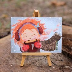 Когда пьёшь горячий чай с печенькой, завернувшись в шерстяной плед, рыжая осень начинает улыбаться тебе даже из чашки. #листівка #поштівка #посткроссинг #открыткикупить #открытки #поштивка #подарок #осень #киев #открытка #yellow #cards #girl #kiev #autumn #postcrossing #card #postcard #poshtivka #followme