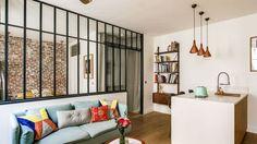 Paris 9 : un appartement qui mélange les styles - Côté Maison