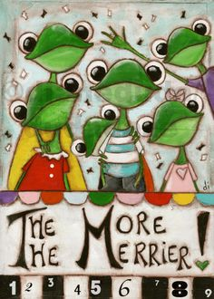 ●••°‿✿⁀°•. Frogs °•. ‿✿⁀°••●