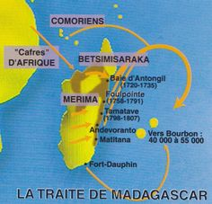carte traite malgache